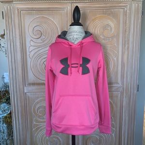 Under Armour Semi-Fitted Hooded Sweatshirt. Sz M for sale